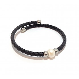 Pulsera Perla natural
