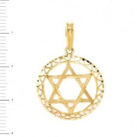 Colgante Oro Estrella de David