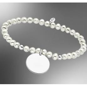 Pulsera perlas Lotus