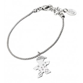 PULSERA LOTUS PLATA CORAZON LP1112-2-1