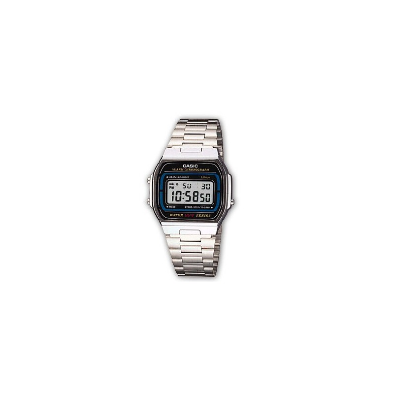 Casio Retro watches-a164wa-1ves-www.monterojoyeros.com