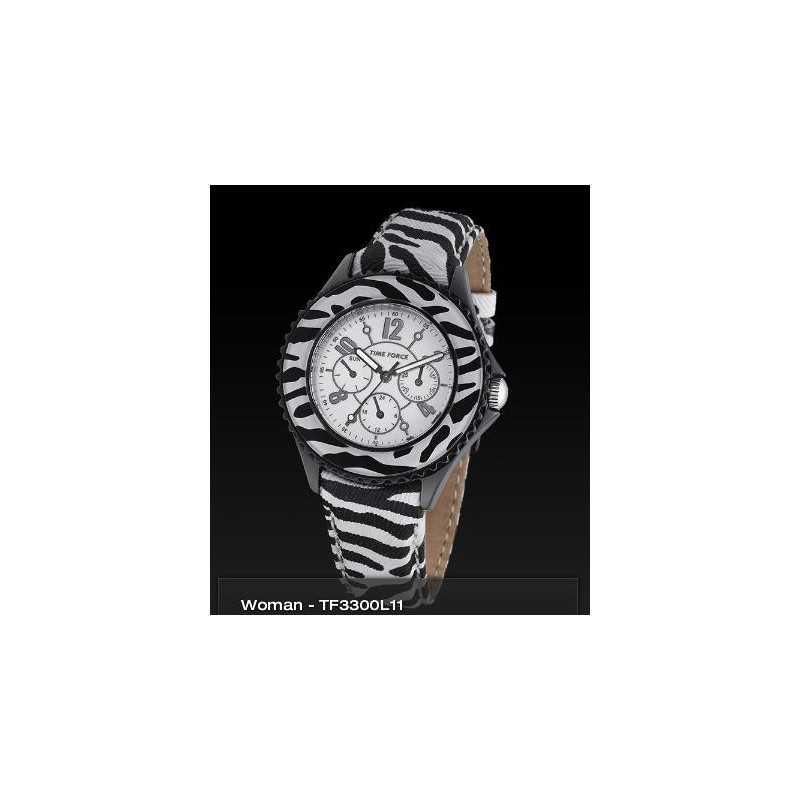 Time Force Cristiano Ronaldo Watches-tf3300l11-www.monterojoyeros.com