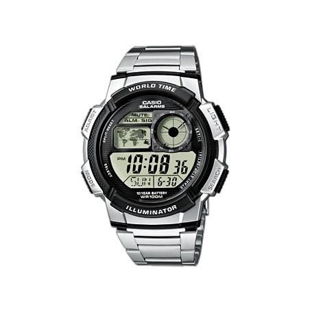 Casio Digital Hora Mundial-ae-1000wd-1avef-www.monterojoyeros.com