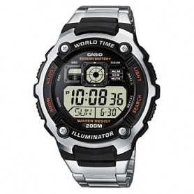 Casio Digital Hora Mundial