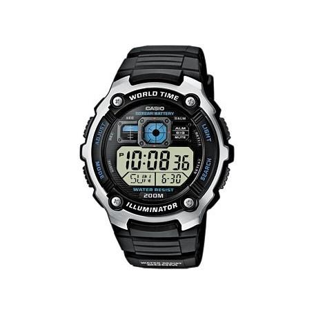 Reloj Casio Digital Hora Mundial-ae-2000w-1avef-www.monterojoyeros.com