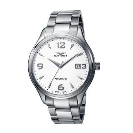 Reloj Sandoz Caballero Automático-81307-00-www.monterojoyeros.com