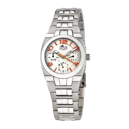 Reloj Lotus Multifunción Acero-15372-www.monterojoyeros.com