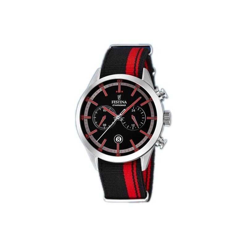 Reloj Festina Caballero Cronógrafo f16827-4